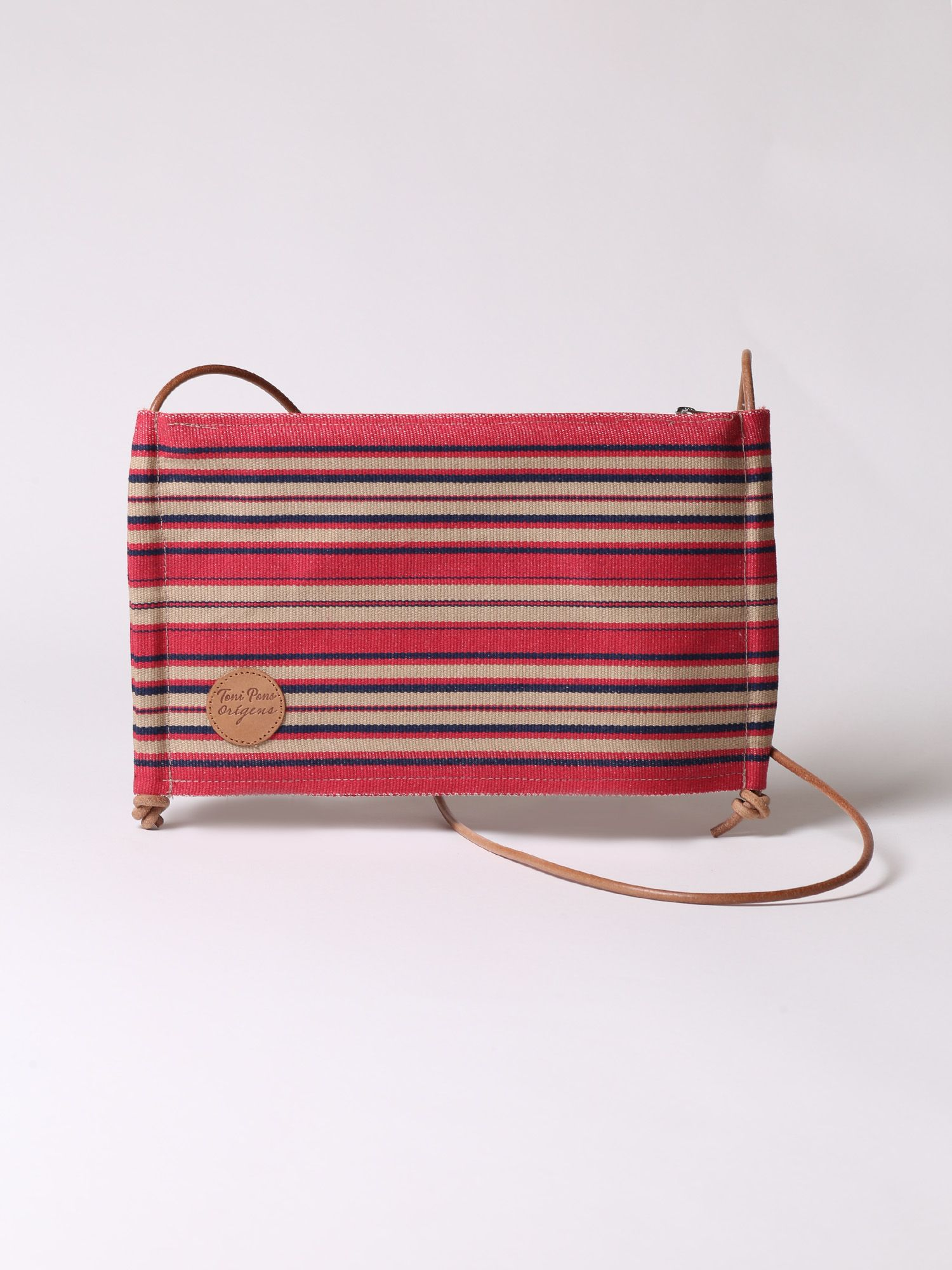 Striped cross-body bag - GEMMA