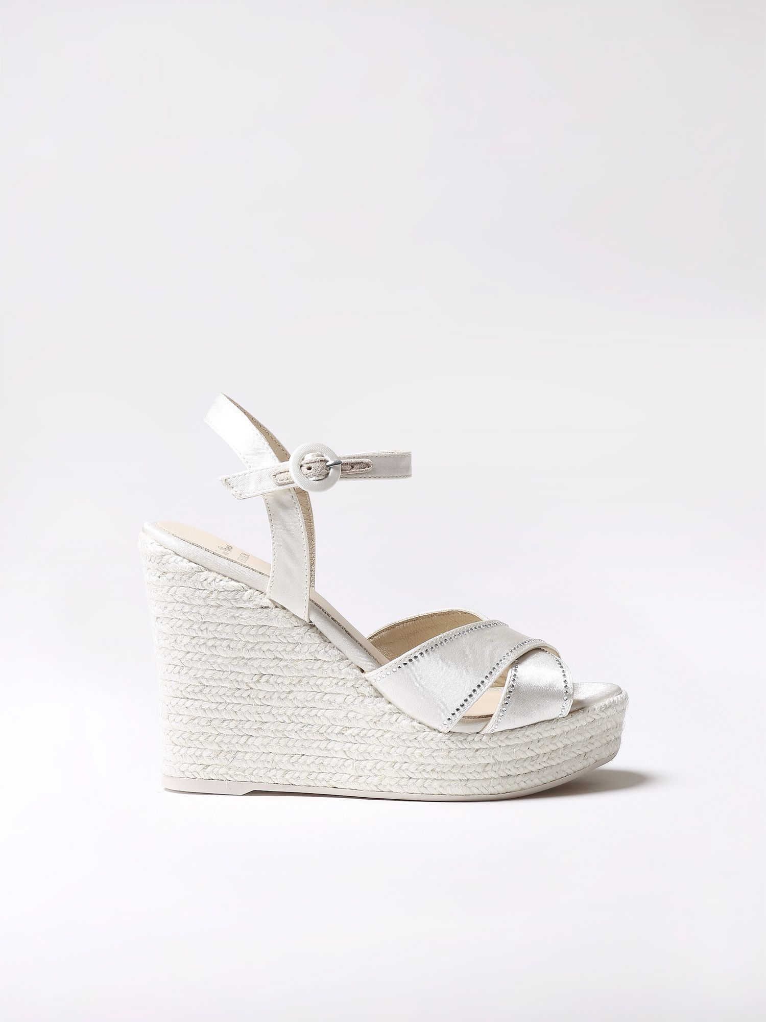 Bridal high wedges - MILENA