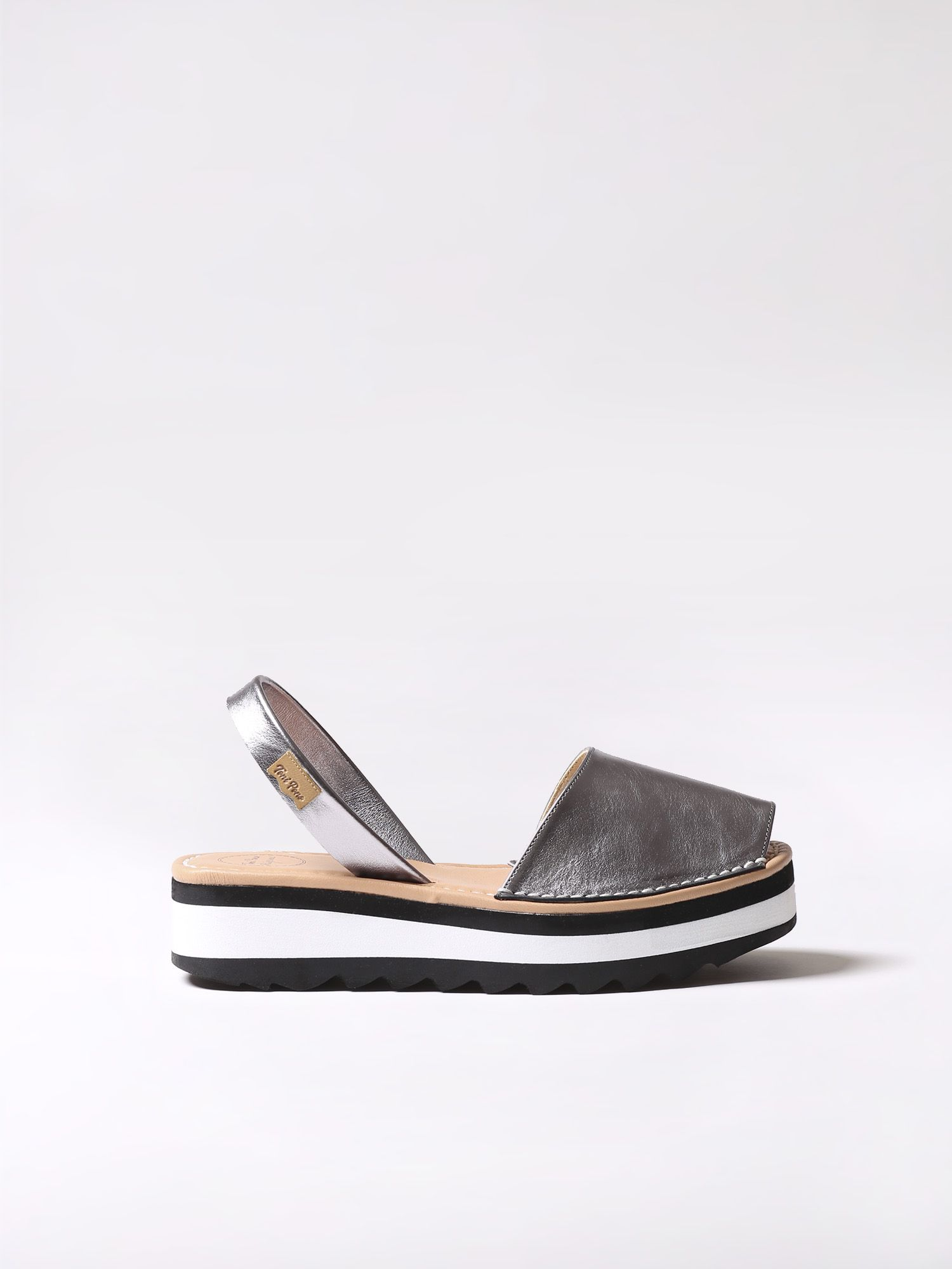 Leather avarca sandal - SOLLER-P